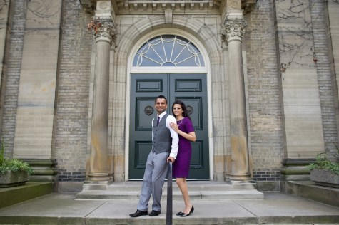 University of Toronto Engagement Photo Session