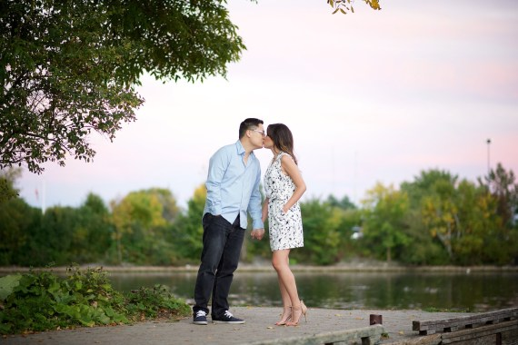 Guildwood Park Engagement Photo Session