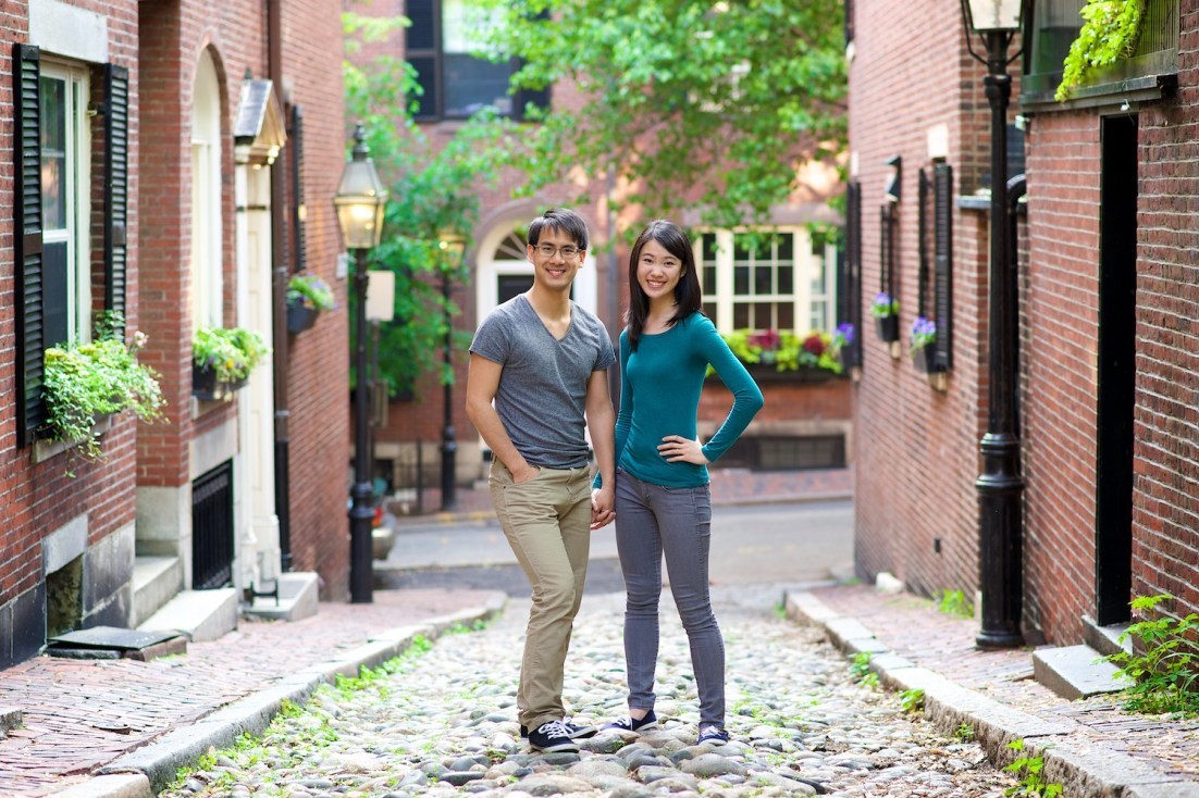 Boston Engagement Photo Session