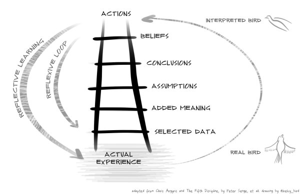 Ladder of Inference | kelvy bird