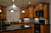 Natural Cherry Custom Kitchen Cabinets