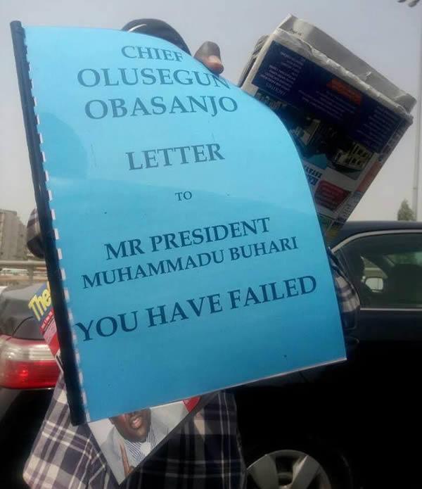 Obasanjo's letter to Buhari