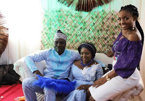 simi's mum wedding