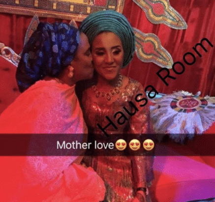 Image result for Dangote's ex-wife fatima wedding