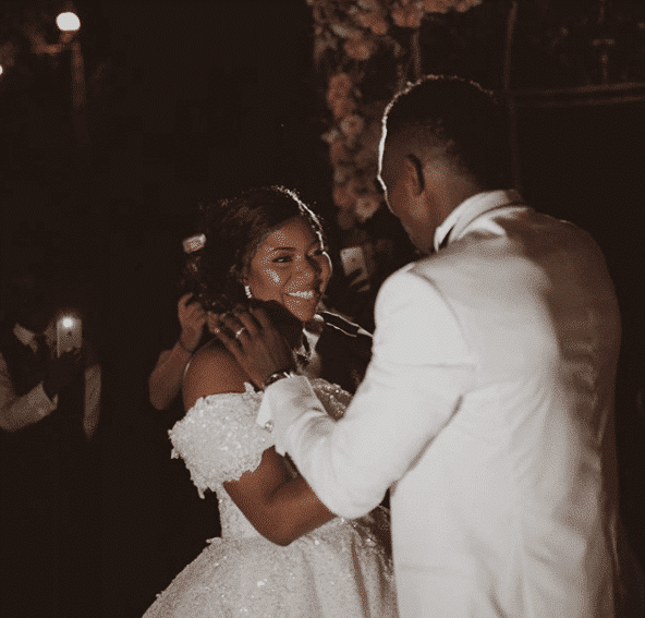 Photos from the white wedding of Super Eagles player, Kenneth Omeruo, in Istanbul Turkey