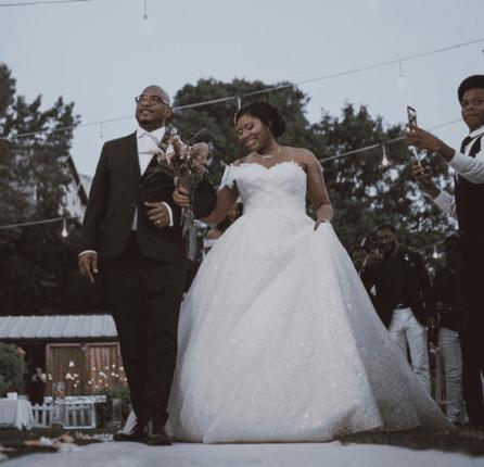 Kenneth Omeruo White Wedding Photos