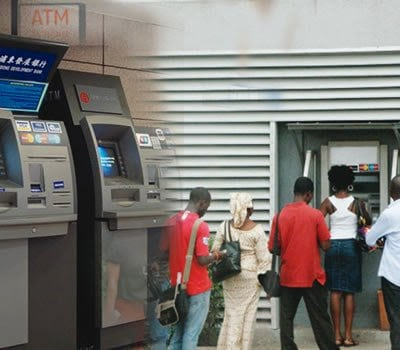 Image result for Skye Bank Customers storm ATMs in panic withdrawal