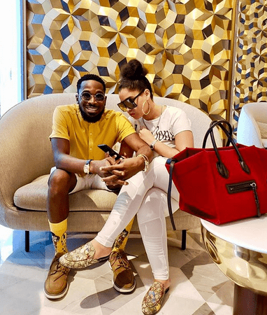 dbabj x wife - Valentine!!! This video of Dbanj surprising his wife, will leave you feeling very good