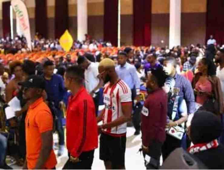 Image result for forget wahala  ITS OFFICIAL! FULL LIST OF BBNAIJA 2019 HOUSEMATES RELEASED BBNaija Auditions Crowd is proof of failed government Nigerians reac3 542x410