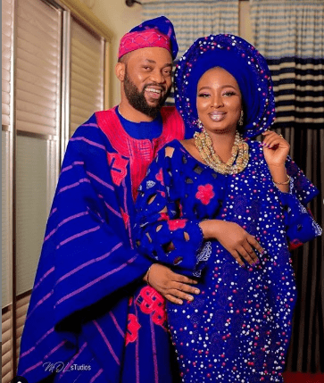 Bimpe Oyebade weds Damola Olatunji in movie