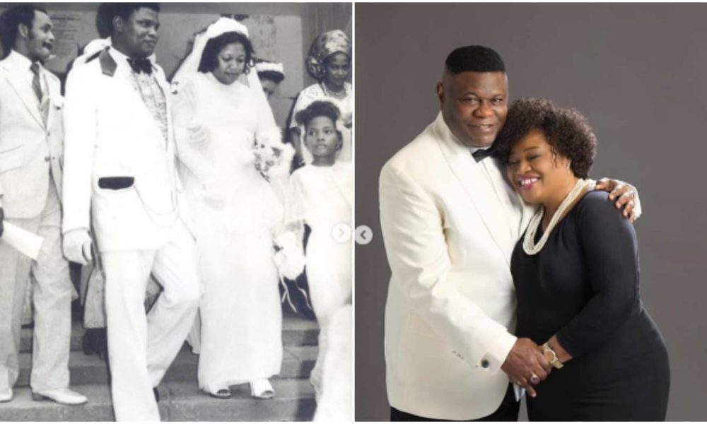 Bishop Mike Okonkwo and wife mark 40th wedding anniversary (photos) - Kemi Filani