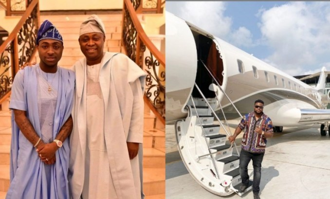 Davido's father acquires another private Jet