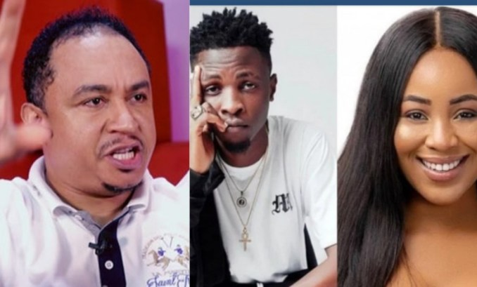 Daddy Freeze, Laycon and Erica