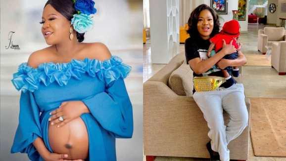 Toyin Abraham celebrates her son in advance