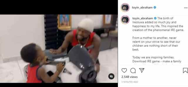 Toyin and the birth of her son