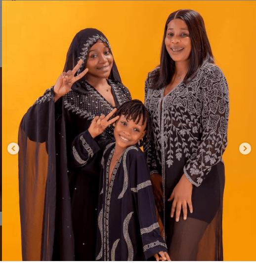 kemi korede celebrates first daughter's 13th birthday