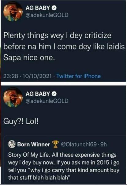 Adekunle Gold and critics