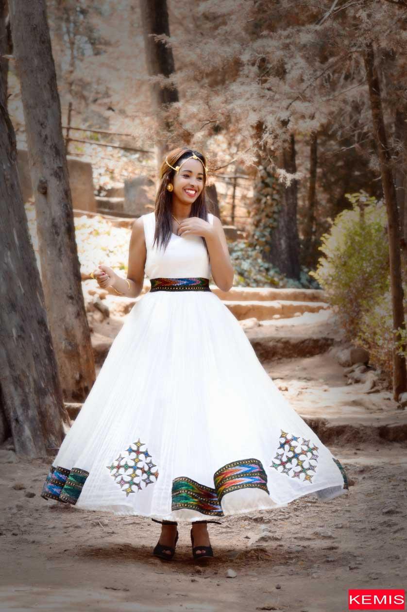 A SAFRA ETHIOPIAN WEDDING DRESS  Kemis Designs