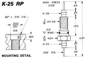Duo-Seel Connectors Kemlon Reverse Pressure