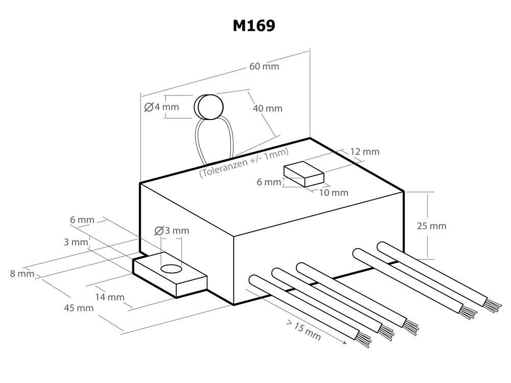 M169 Temperature Switch Thermostat 12 V/DC