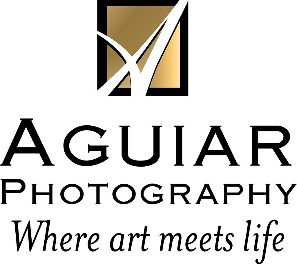 Aguiar Photography logo, Where art meets life, Logo designed by Kemp Design Services for Ken Aguiar, Letter Logo, A logo