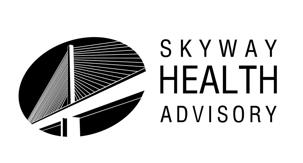 Skyway Health Advisory Logo, Bride logo, Skyway Logo, Health Logo designed by Kemp Design Services