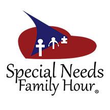 Special Needs Family Hour, Podcast Logo, Show logo, autism logo, christian logo