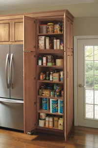Utility Storage Cabinet with Pantry Pull-out - Kemper
