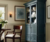 Dining Room Storage Cabinet - Kemper Cabinets