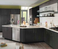 Dark Gray Kitchen Cabinets - Kemper Cabinetry