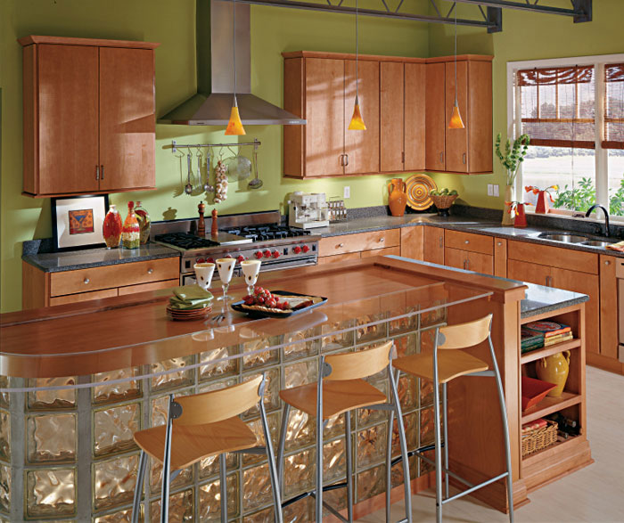 Maple Kitchen Cabinets Kemper Cabinetry