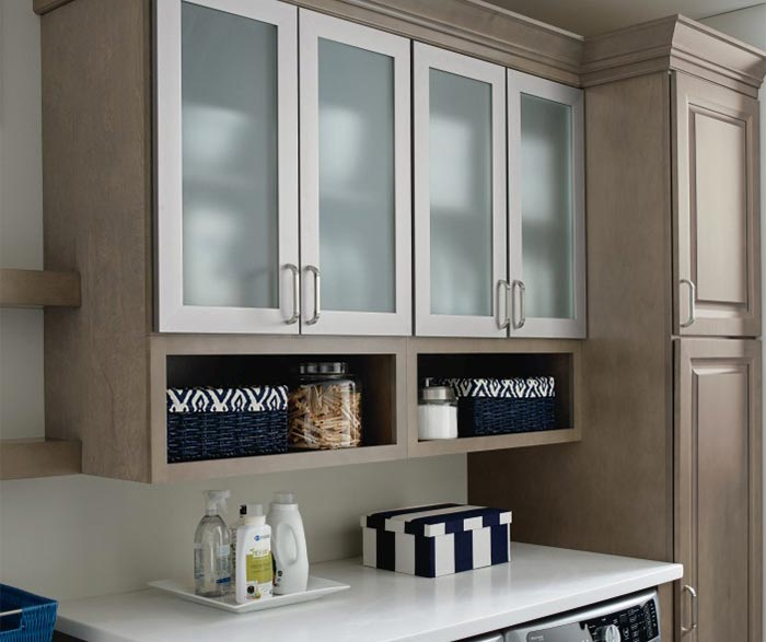 Laundry Room Storage Cabinets  Kemper Cabinetry