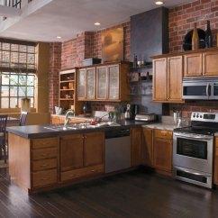 Kitchen Cabinets.com Retro Tables Maple Cabinets - Kemper Cabinetry