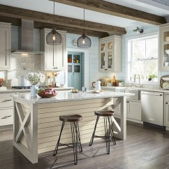 Kitchen Cabinet Photos Large Islands With Seating Inspiration Gallery Kemper Shanlemmorxhwo Tatemmfgdeckermcock Cherry Cabinets In A Traditional