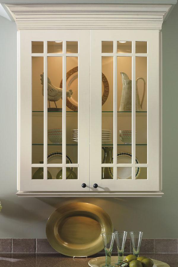 white wood kitchen cabinets denver prairie mullion cabinet doors - kemper cabinetry