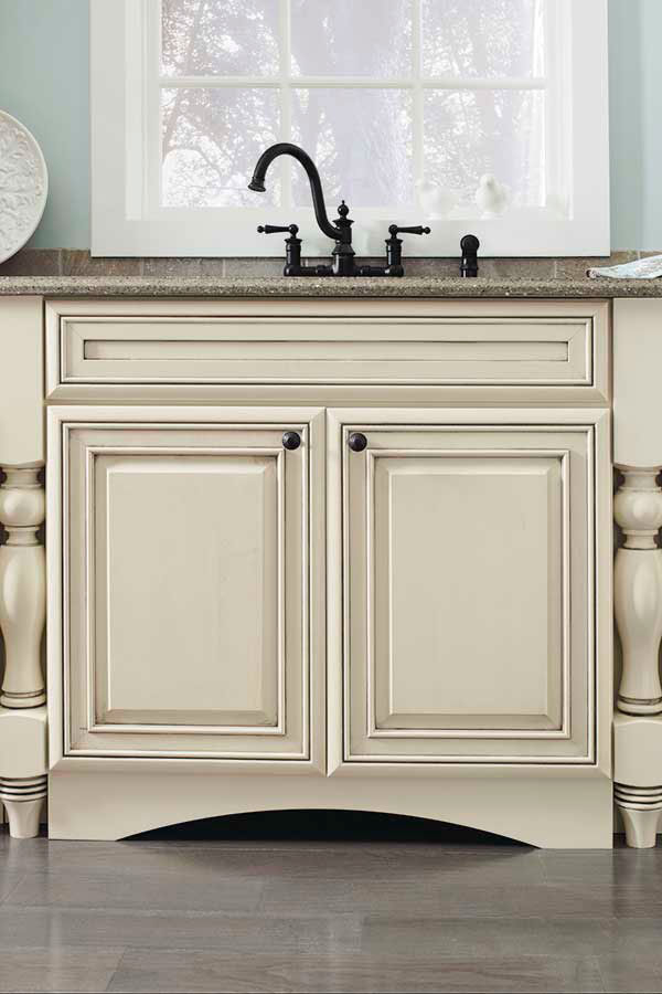 Arch Valance Toekick Kemper Cabinetry