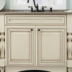 Kitchen Cabinet Door Concrete Floor Arch Valance Toekick - Kemper Cabinetry