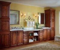 Black Bathroom Storage Cabinets - Kemper Cabinetry