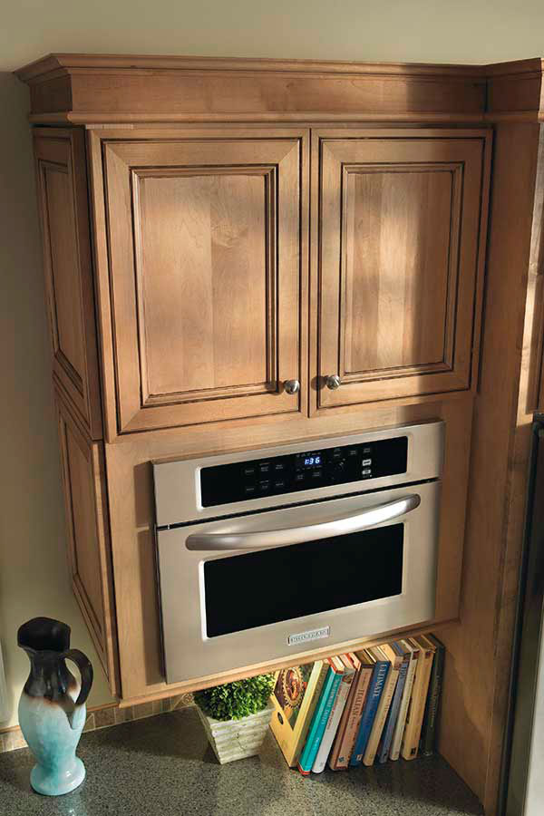 Microwave Cabinet  Kemper Cabinetry