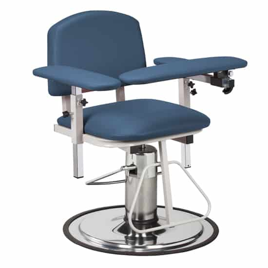 blood draw chair fitted lounge towels model 6310 h series padded with arms