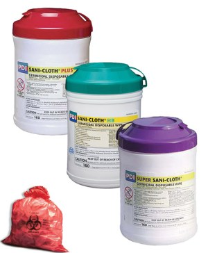 Germicides/Cleaners, Recepticals