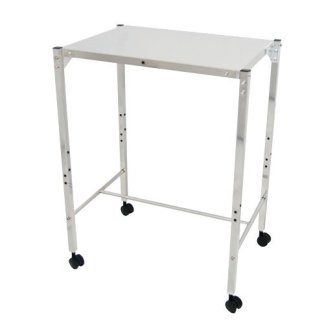 MRI Non-Magnetic Utility Table with Top Shelf