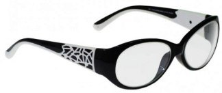 Model 230 Large Eye Spider Web - Black / White
