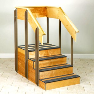 Physical Therapy One Sided Staircase