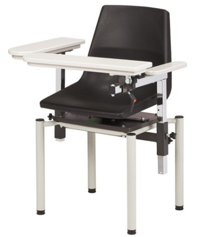 SC Series, EZ Clean Blood Drawing Chair with ClintonClean Arms