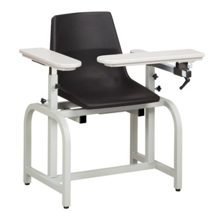 Standard Lab Series Blood Draw Chair with Flip Arm