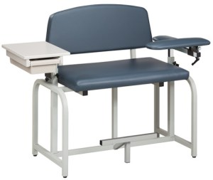 Lab X Series Bariatric Extra Tall Blood Draw Chair