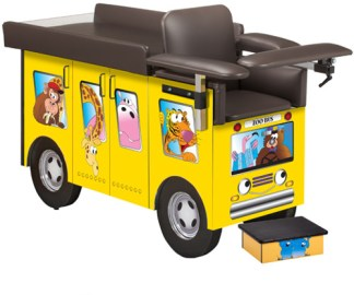 Pediatric Series - Zoo Bus Blood Drawing Chair