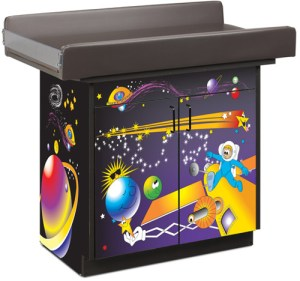 Space Place Infant Blood Drawing Station with 2 Doors