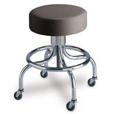 Screw Adjustable Seat Stool - 4 Leg